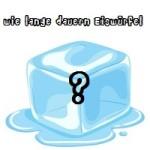 Wie lange brauchen Eiswürfel zum Gefrieren - Eiswürfelbereiter - Eiswürfelmaschine